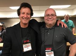 With Jon Land at ThrillerFest