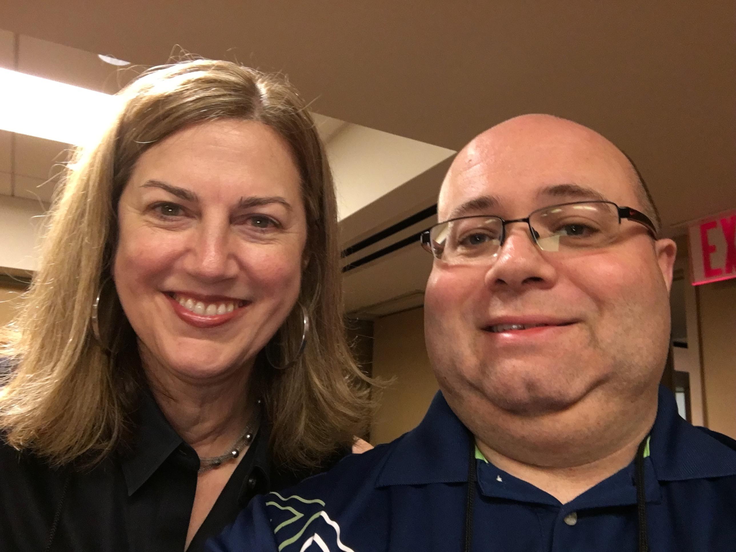 With Meg Gardiner