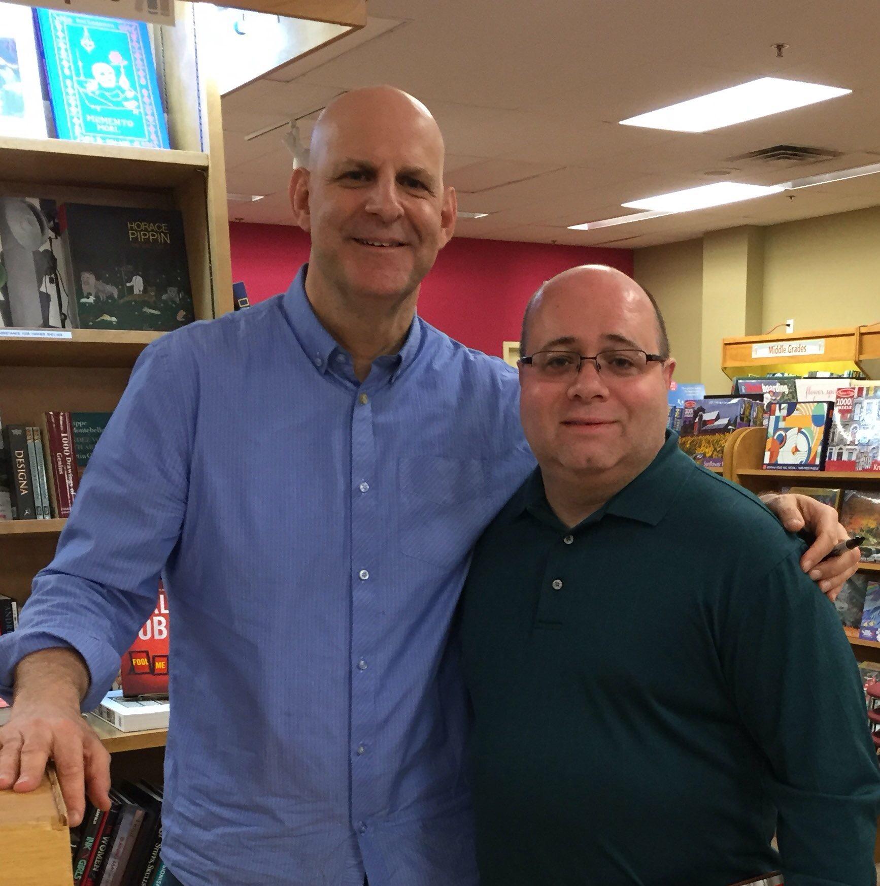 With Harlen Coben