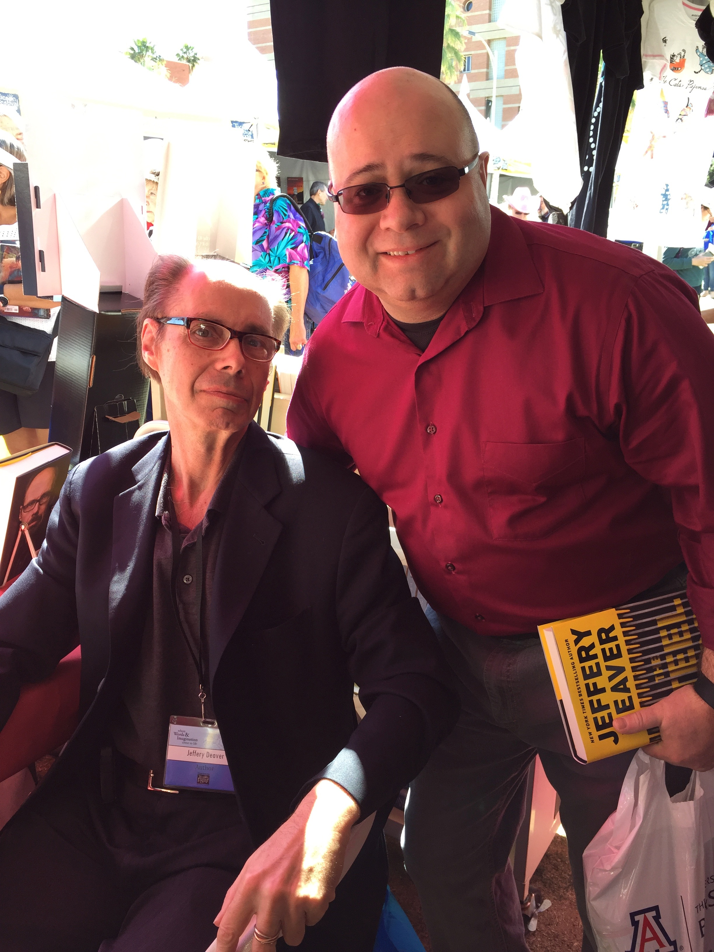 With Jeffrey Deaver