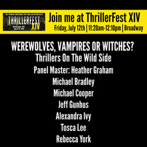 Upcoming Event - ThrillerFest 2019