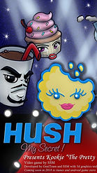 Kookie logo promo poster for video gam