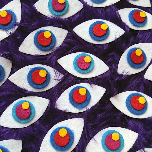 Felt Eye Stickies