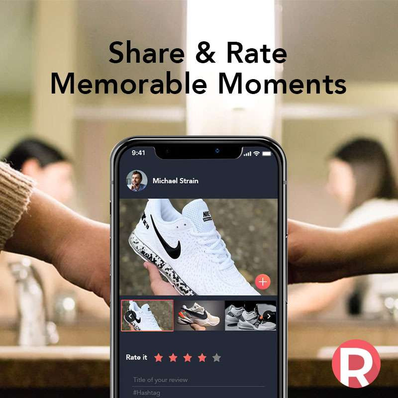 Rate & Share Your Moments