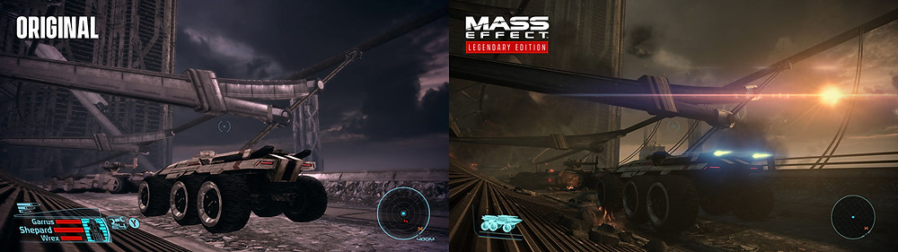 Mass Effect: Legendary vs. Original