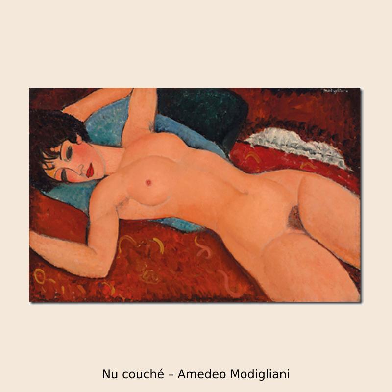 Nu couché – Amedeo Modigliani