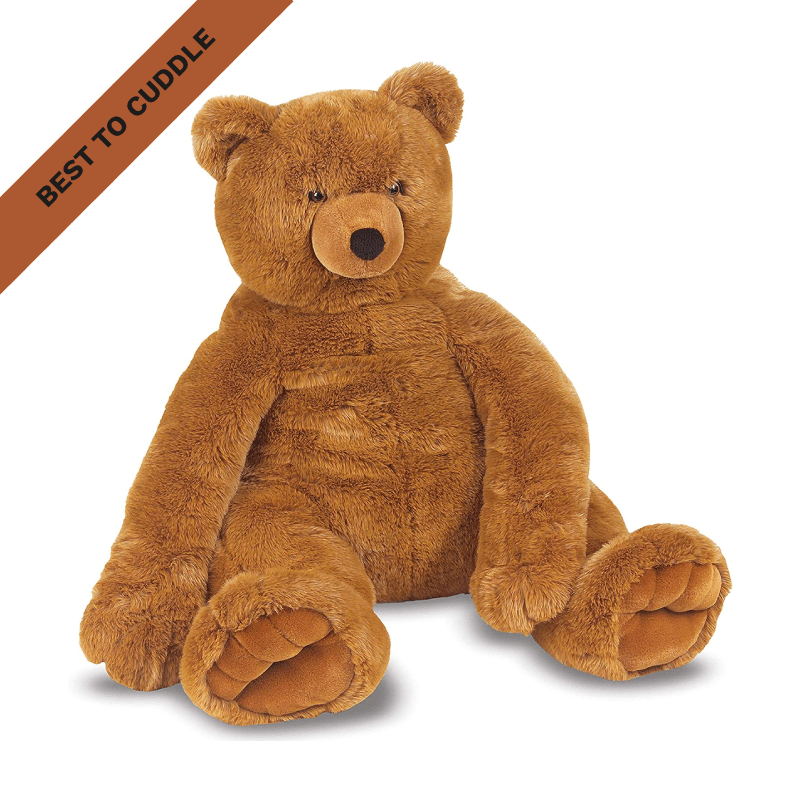 Best to Cuddle: Melissa & Doug Jumbo Brown Teddy