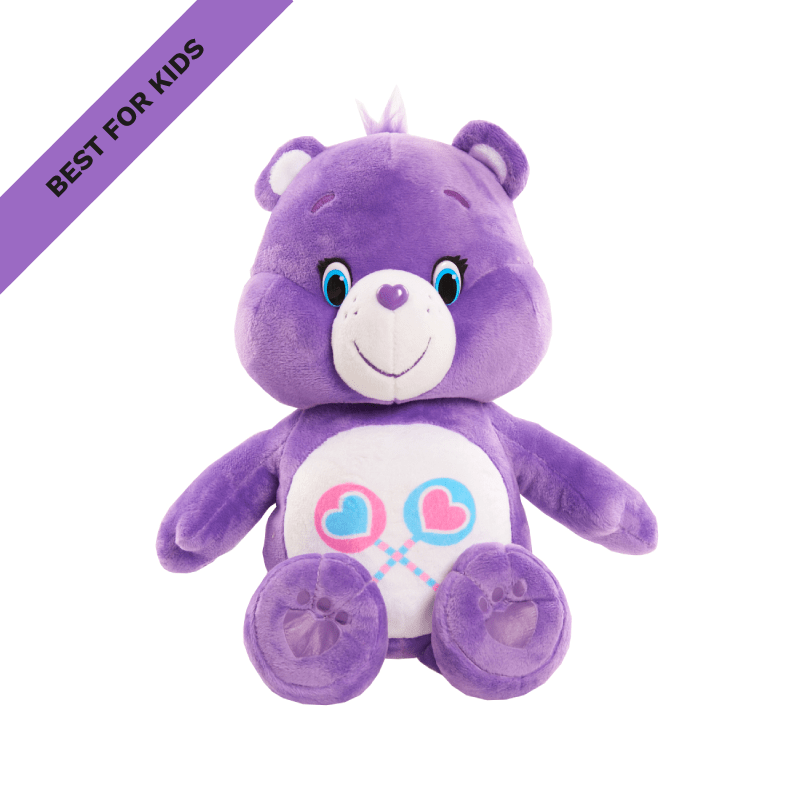 Best for Kids: Care Bears Hug & Giggle Feature Plush Share Bear