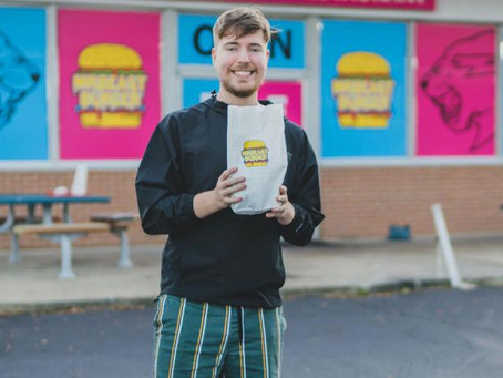 Top-paid Youtube Star MrBeast Launches New Burger Chain 🍔🍟🥤