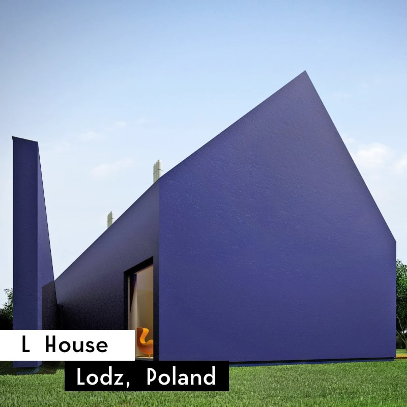 l house in lodz, poland