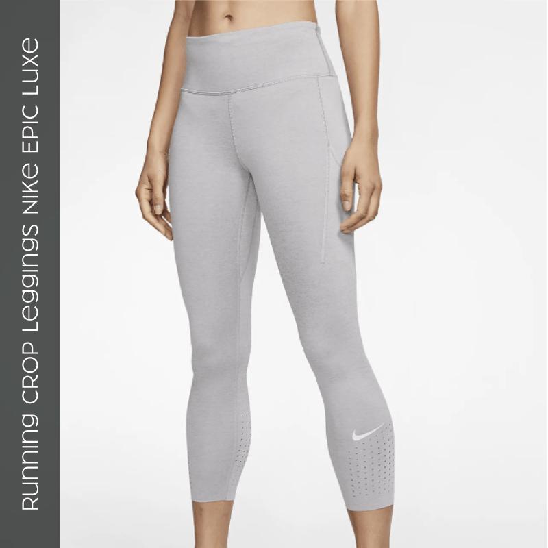 Running Crop Leggings Nike Epic Luxe