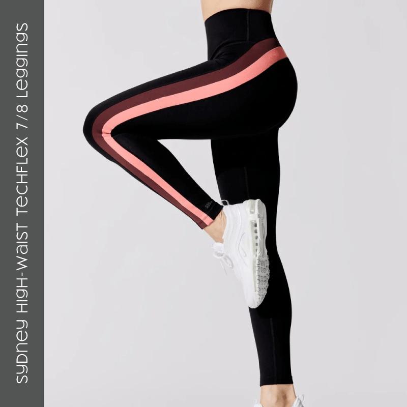 Sydney High-Waist Techflex 7/8 Leggings