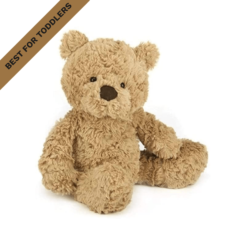 Best for Toddlers: Jellycat Bumbly Bear Stuffed Animal