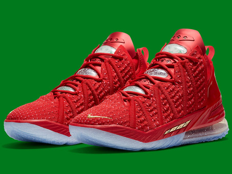 "Nike Lebron 18 ""X-Mas In LA"" Edition"