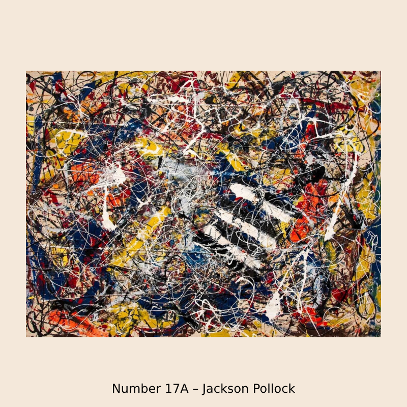 Number 17A – Jackson Pollock