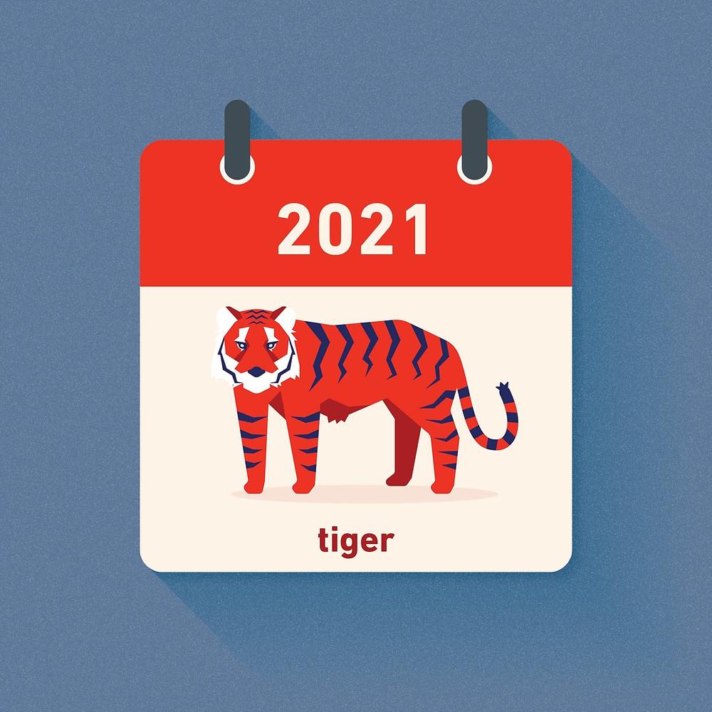 Tiger Zodiac in 2021