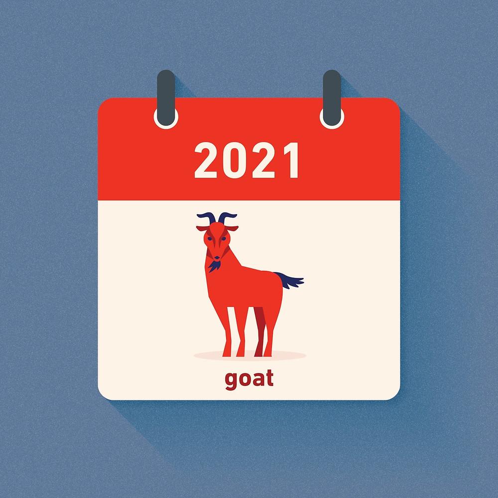 Goat Zodiac in 2021
