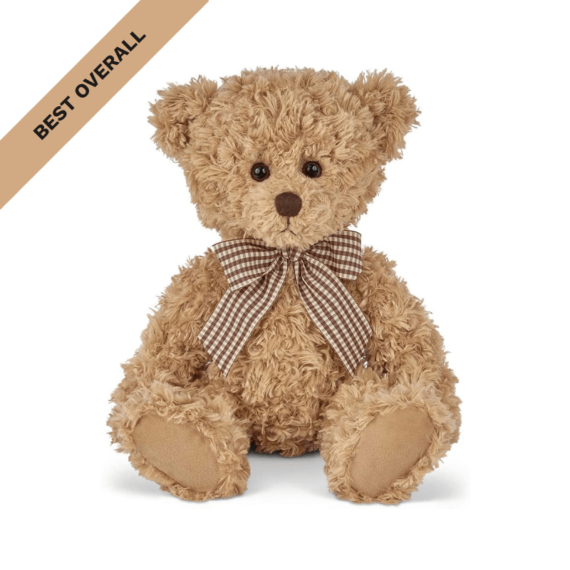 Best Overall: Bearington Collection Theodore Brown Plush Stuffed Animal Teddy Bear