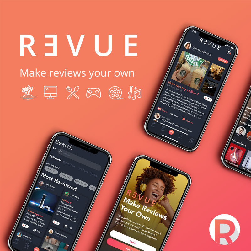 Revue App: Make reviews your own