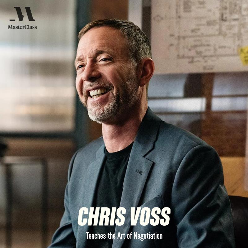 Chris Voss - Teaches the Art of Negotiation
