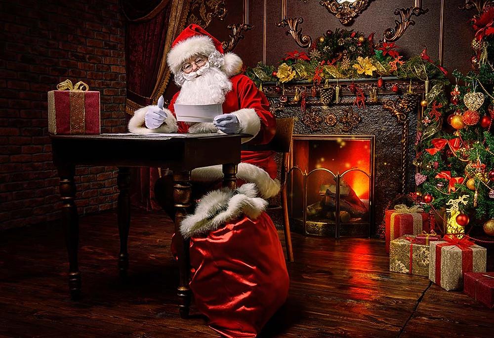 Surprise Visit From Santa