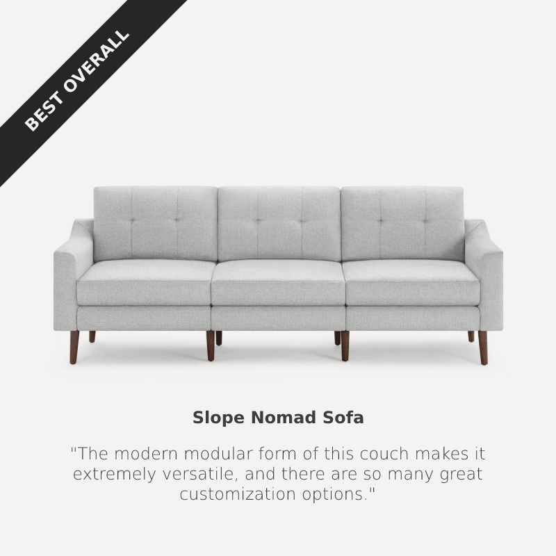 Best Overall: Burrow Nomad Sofa at Burrow