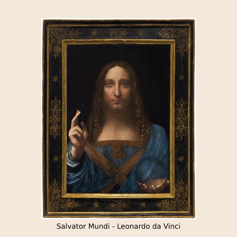 Salvator Mundi – Leonardo da Vinci