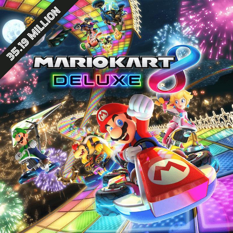 Mario Kart 8 and Mario Kart 8 Deluxe