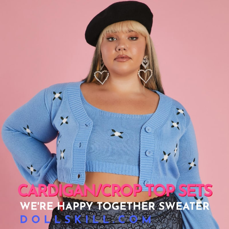 Dollskill We're Happy Together Sweater