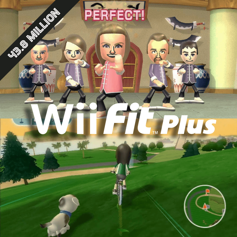Wii Fit and Wii Fit Plus