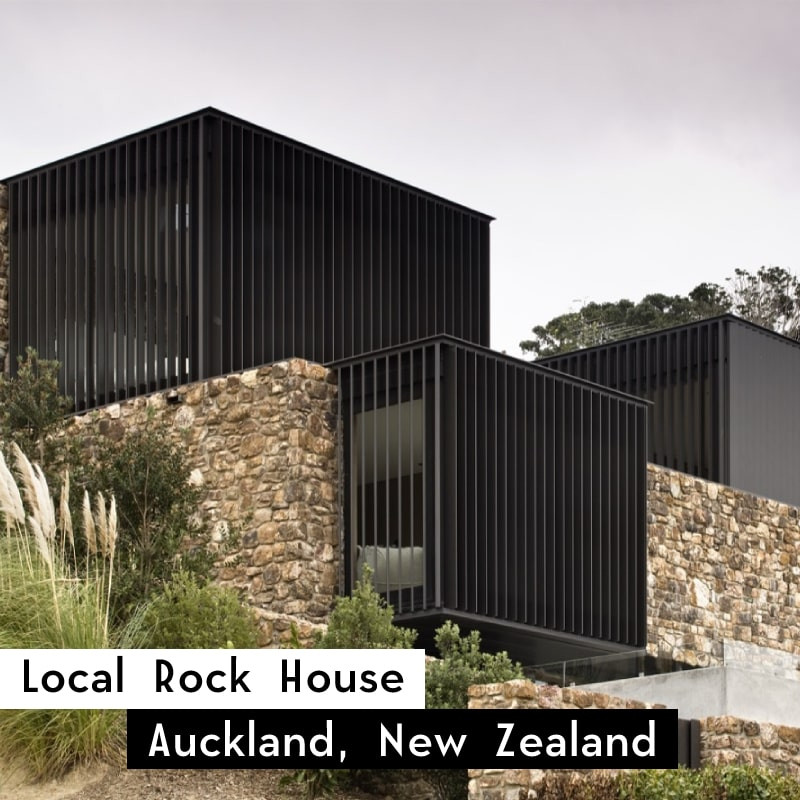 local rock house in auckland, new zealand