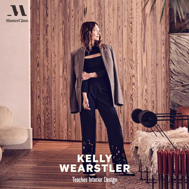 Kelly Wearstler - Teaches Interior Design