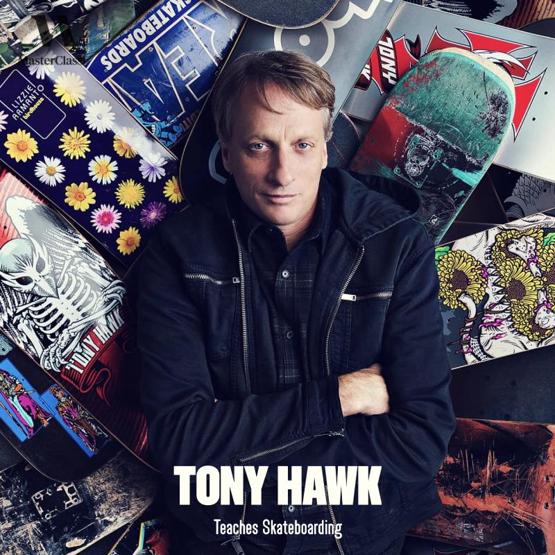 Tony Hawk - Teaches Skateboarding