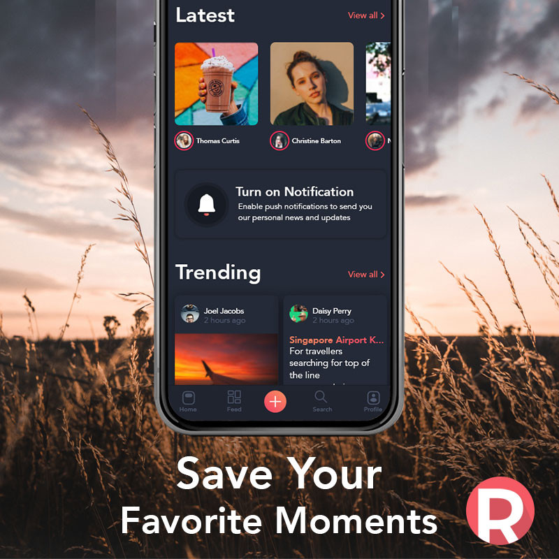 Revue App: Save your favorite moments