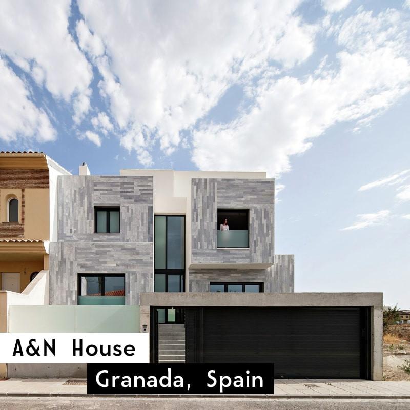 a&n house in granada, spain