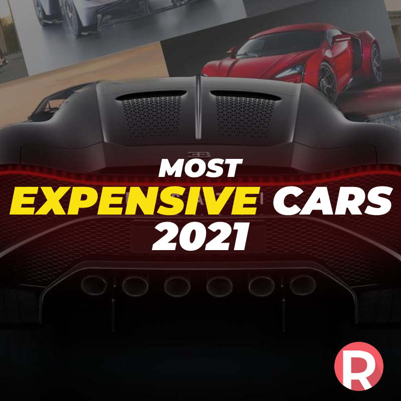 The Most Expensive Cars of 2021