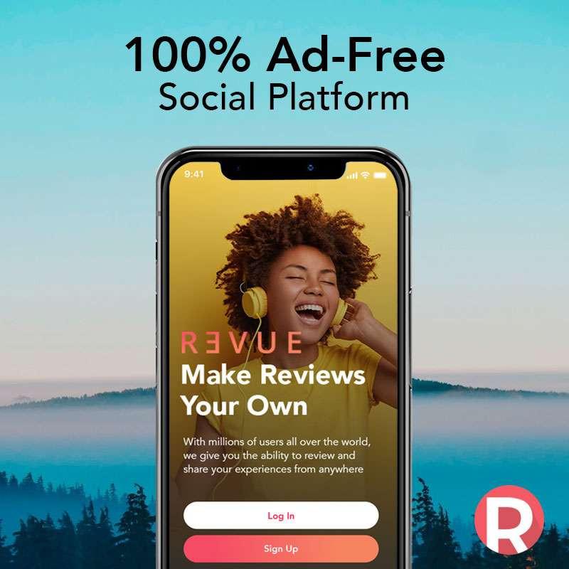 Revue App: 100% Ad-Free Social Platform