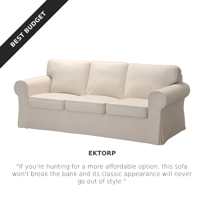 Best Budget: IKEA EKTORP Sofa at IKEA