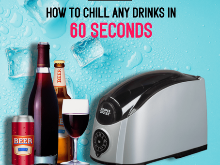 Cooper Cooler – Chill Any Drinks In 60 Seconds 🍾🍷🍺🧃