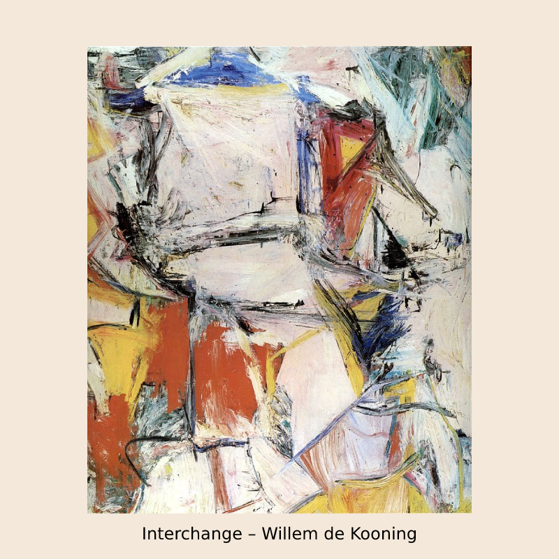 Interchange – Willem de Kooning