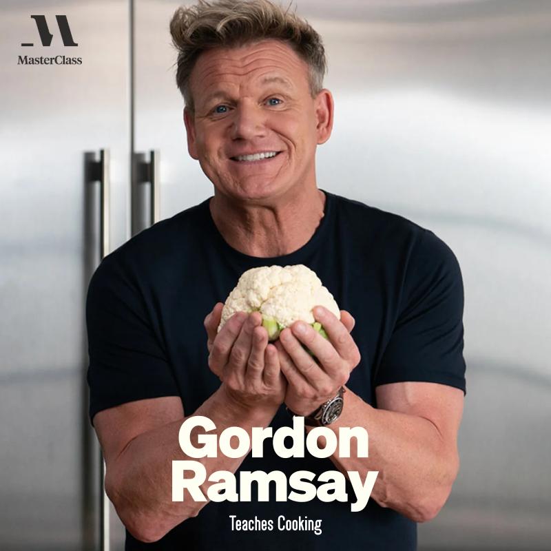 Gordan Ramsay - Teaches Cooking