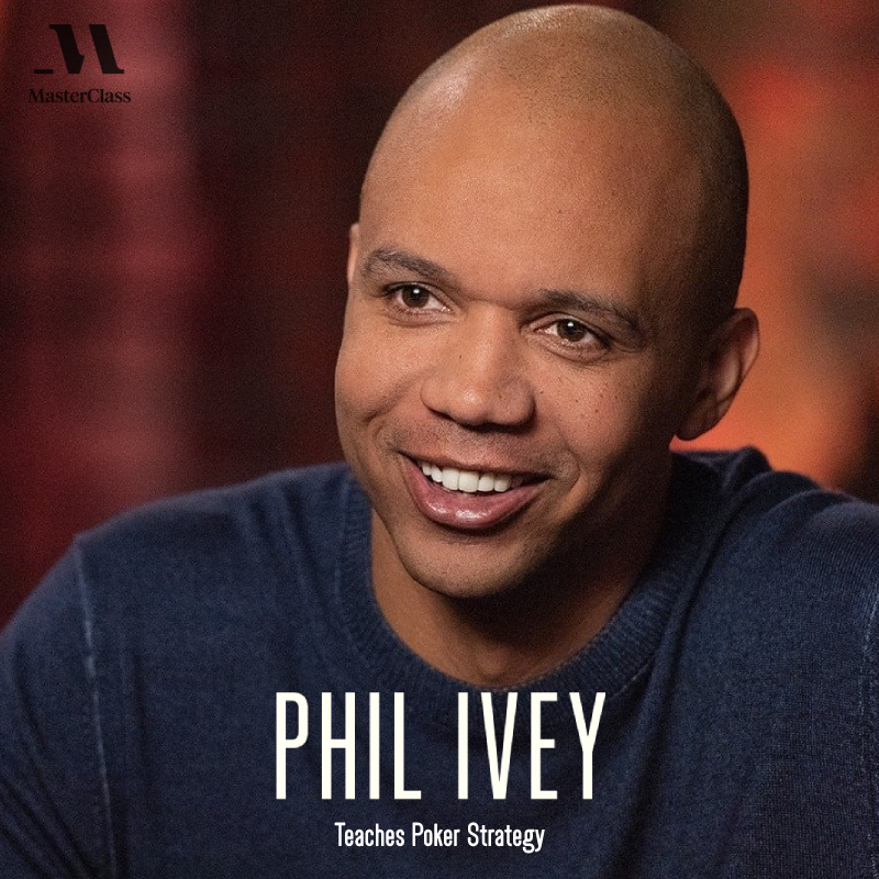 Phil Ivey - Teaches Poker Strategy