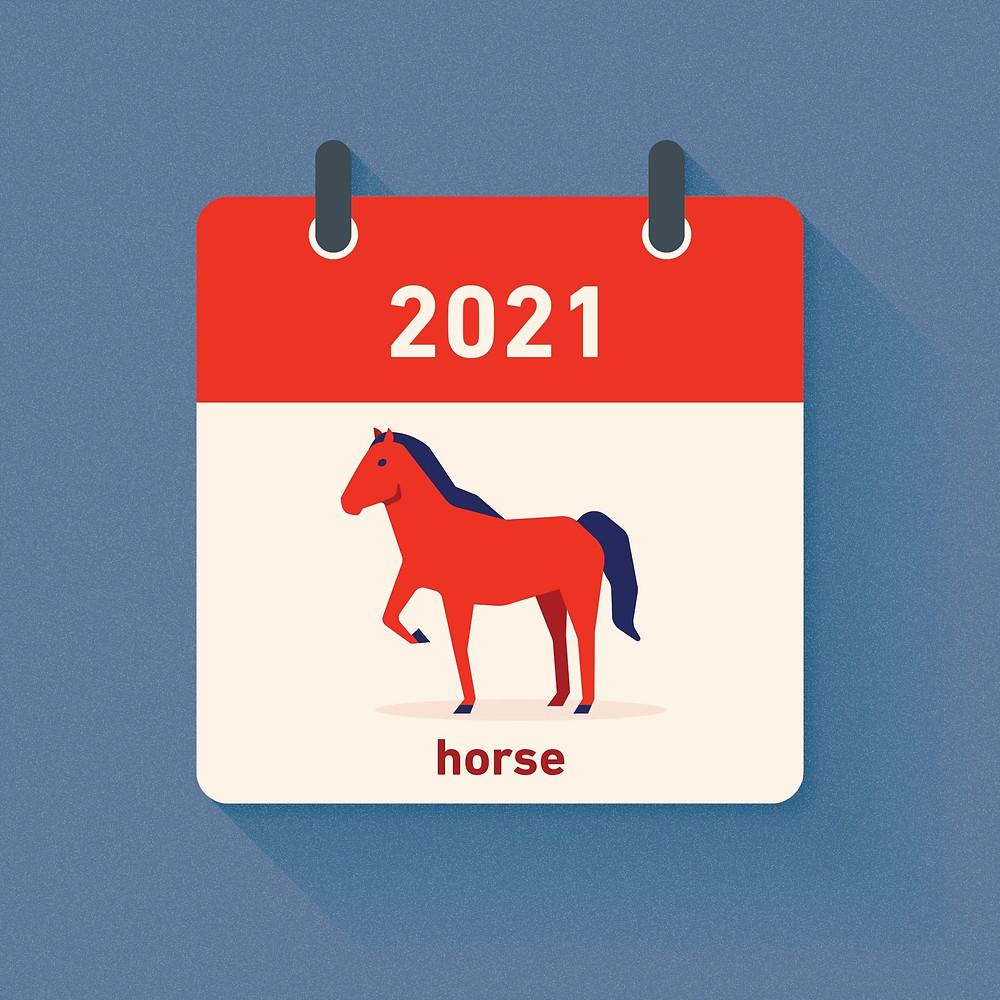 Horse Zodiac in 2021