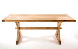 Butternut Trestle Table