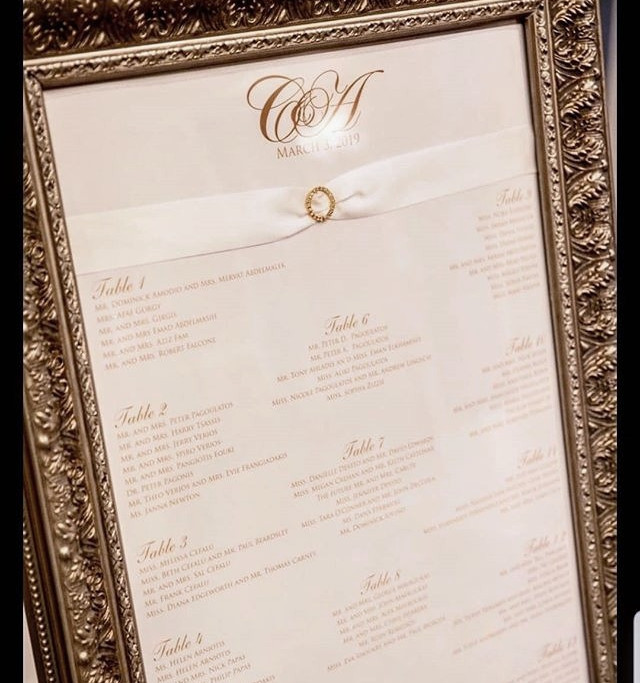 LOVE  this ornate frame for a seating ch