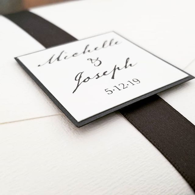 Less is more. Classic linen cardstock, c