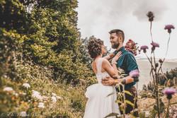 Mariage dans les hauteurs de Siène