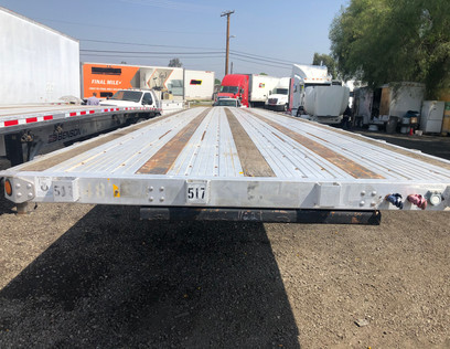 48' composite utility flatbed trailer