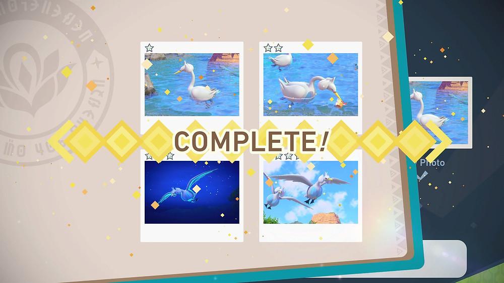 Swanna New Pokemon Snap