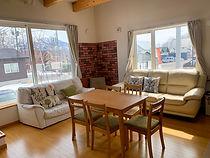 Trailside Chalet living room